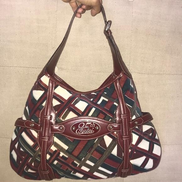 c10725a0310 Gucci Handbags - Gucci 85th Anniversary Horsebit Hobo Bag